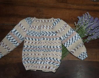 Soft and warm vest for baby