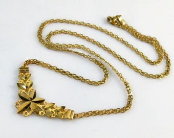 """14K Gold Beverly Hills Necklace 16.75"""" Inches . 4.6g"""