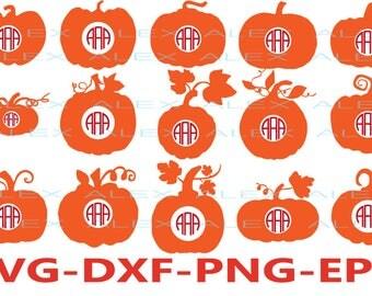 70% OFF, Pumpkin Monogram Svg, Pumpkin svg, Halloween svg, Pumpkin Pattern, Pumpkin Svg, Dxf, Eps, Png files, Silhouette Cut Files