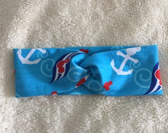 Disney cruise headband, workout gear, running gear, yoga headband, sweatband