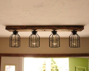 Wood lighting Etsy