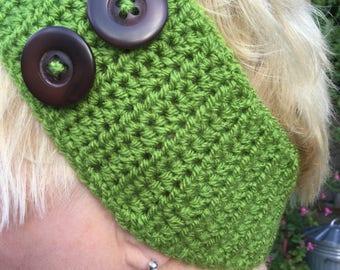 Crochet headband / ear warmer