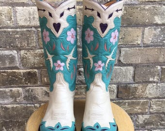 Vintage Pretty Cowgirl Boots by Old Gringo