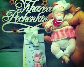 "infants of polyurethane ""  Vasilisa"" 5 in by Victoria Vihareva-Pechenkina"