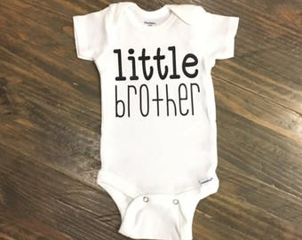 Little Brother - Little Sister Onsie