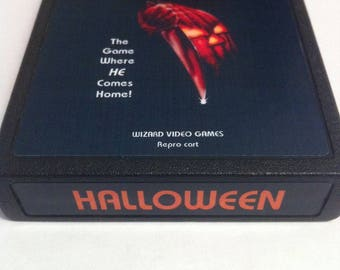 Atari 2600/7800 Video Game Cartridges - Halloween