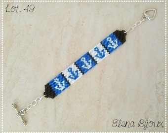 Peyote bracelet marinaro