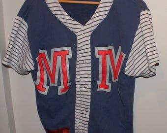 Vintage VTG Mickey & Co Varsity Sweater