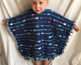 Baby  toddler Blanket Poncho