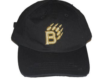 Black BearaKuda Dad Hat.