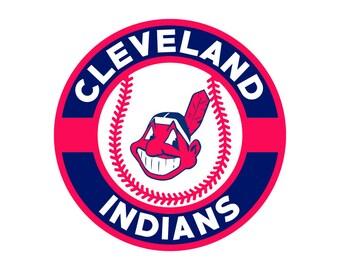 Cleveland indians svg etsy - Cleveland indians pictures ...