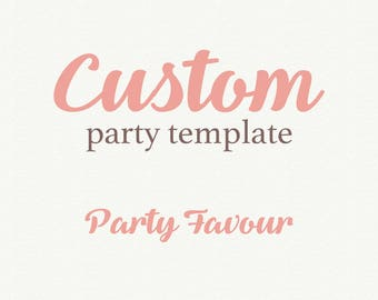 Custom wedding favor, Custom party favor, Printable Wedding Favor, Personalized gift, wedding favours, DIY wedding