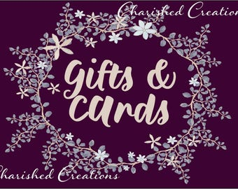 Gifts and Cards Wedding Sign, Purple Gifts and Cards Sign *INSTANT DOWNLOAD*
