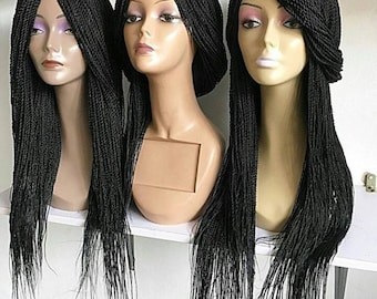 Braided Wig, Senegalese Twists, African braids