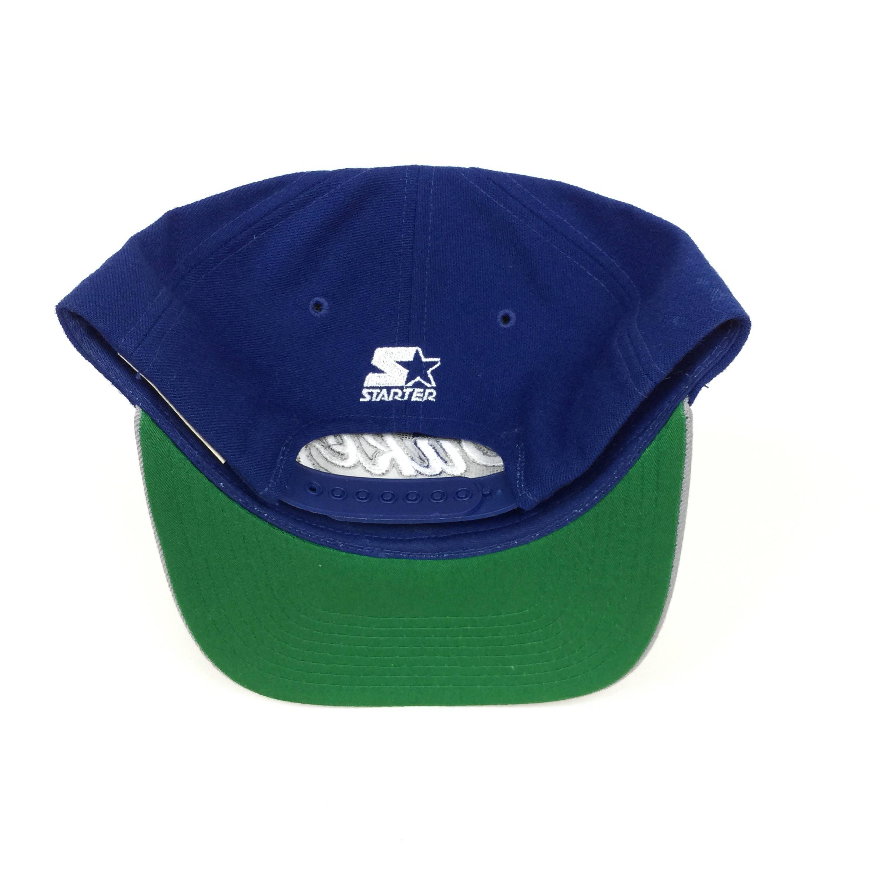 2b40b2e8eaf Rare Vintage 90s Starter NCAA Duke University Blue Devils Wool Script  college snapback hat