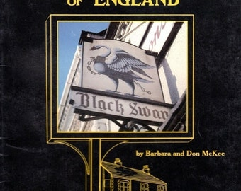 Stained Glass Designs From the Pubs and Taverns of England 1983 Book