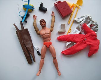 1971 Mattel Big Josh Big Jim Action Figure Accessories