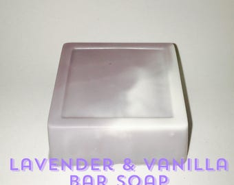 Lavender & Vanilla Bar Soap