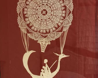 Paper Cutting Wall Art