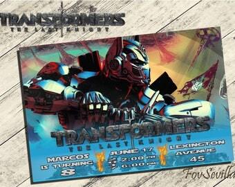 transformers the last knight invitation,transformers birthday invitation,transformers party,partido transformers,transformers invitation,