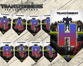Transformers birthday banner, transformers birthday party, transformers party, transformers, transformers banners,transformers 5,transformer