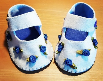 """Blue Rose"" shoes"