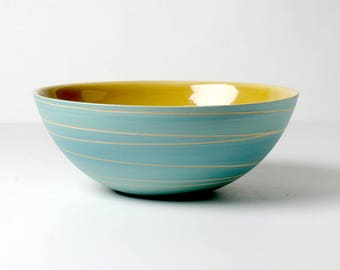Hand-pottered bowl, for soup, cereals, gifts for you