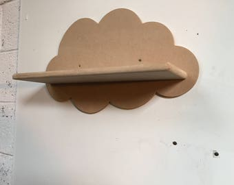 MDF cloud shelf 450mm wide