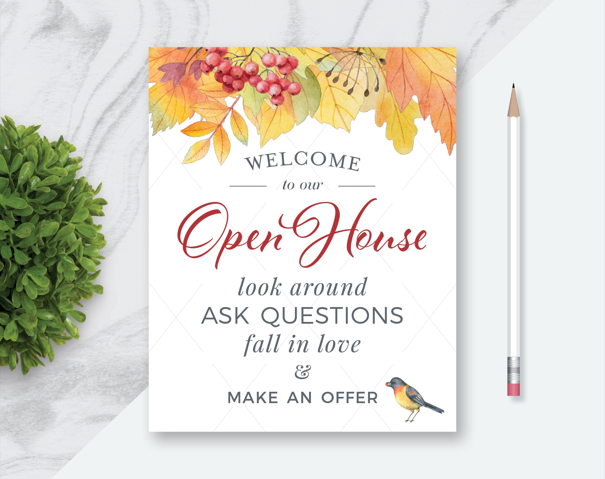 Witty image pertaining to welcome to our open house printable