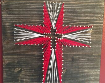 String Art Cross