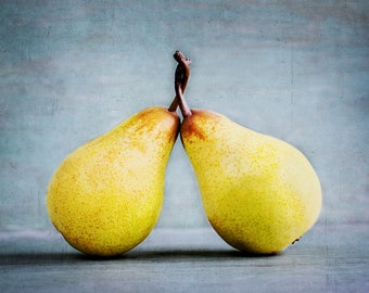 Fine Art Photography, Pears Entwined Greetings Card