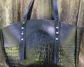 "Leather handbag* genuine leather* leather purse* ""Madison"""