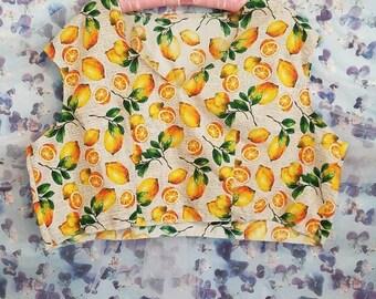 Lovely Lemon Crop Top