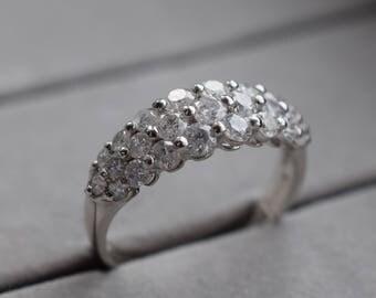 one carat platinum diamond dress ring