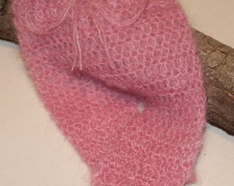 Mohair/Lace Crochet Pants
