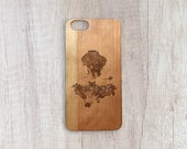 The Beauty - Personalised Wooden Phone Case