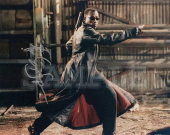 Wesley Snipes signed 8x10 Autograph RP - Great Gift Idea - Ready to Frame photo picture