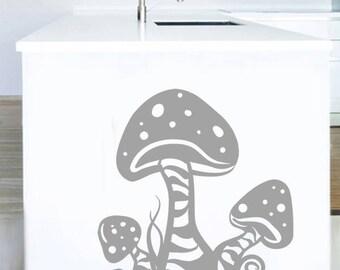 "Sticker ""Nature mushrooms"""
