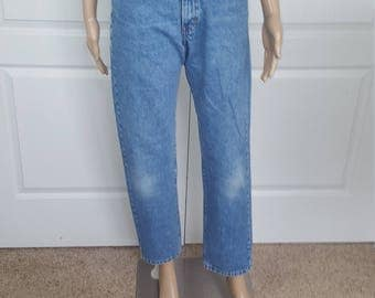 CALVIN KLEIN JEANS  Vintage High waisted jeans  Mom Jeans / 26 27/ xs small S