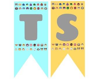 Tsum Tsum Character Banner