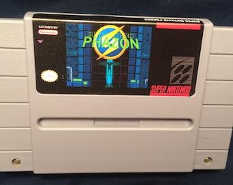 Super Metroid Phazon SNES Game
