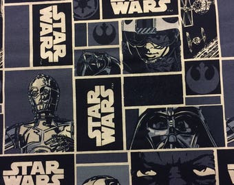 Star Wars Fabric Cotton By The Yard 36 Inches Long