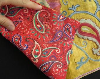 Silk Embroidered Suzani Textile