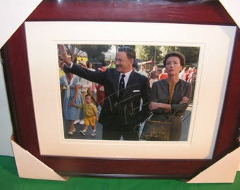 Tom Hanks and Emma Thompson Autographs