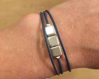 Bluish gray Carrio Bracelet bracelet