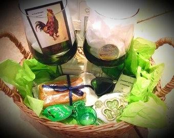 Lock O' The Irish St. Patrick's Day Gift basket
