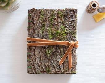 Handmade Art Journal | Sketchbook | Notebook | Scrapbook | Hardcover Journal | Photo Album | A5 | Brown Bark