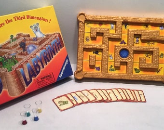 Ravensburger Boardgame 3d Labyrinth Complete in Great Condition FREE SHIPPING