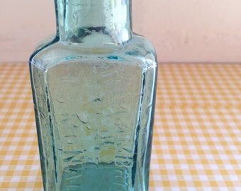 Blue Miniature Cambridge Lemonade Bottle