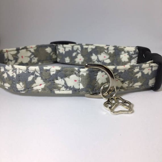 Sale Dog Collar, Misty, Floral Dog Collar, Pretty Dog Collar, Dog Collar UK